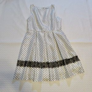 Danny and Nicole Very Cute Polka Dot Dress (H1)